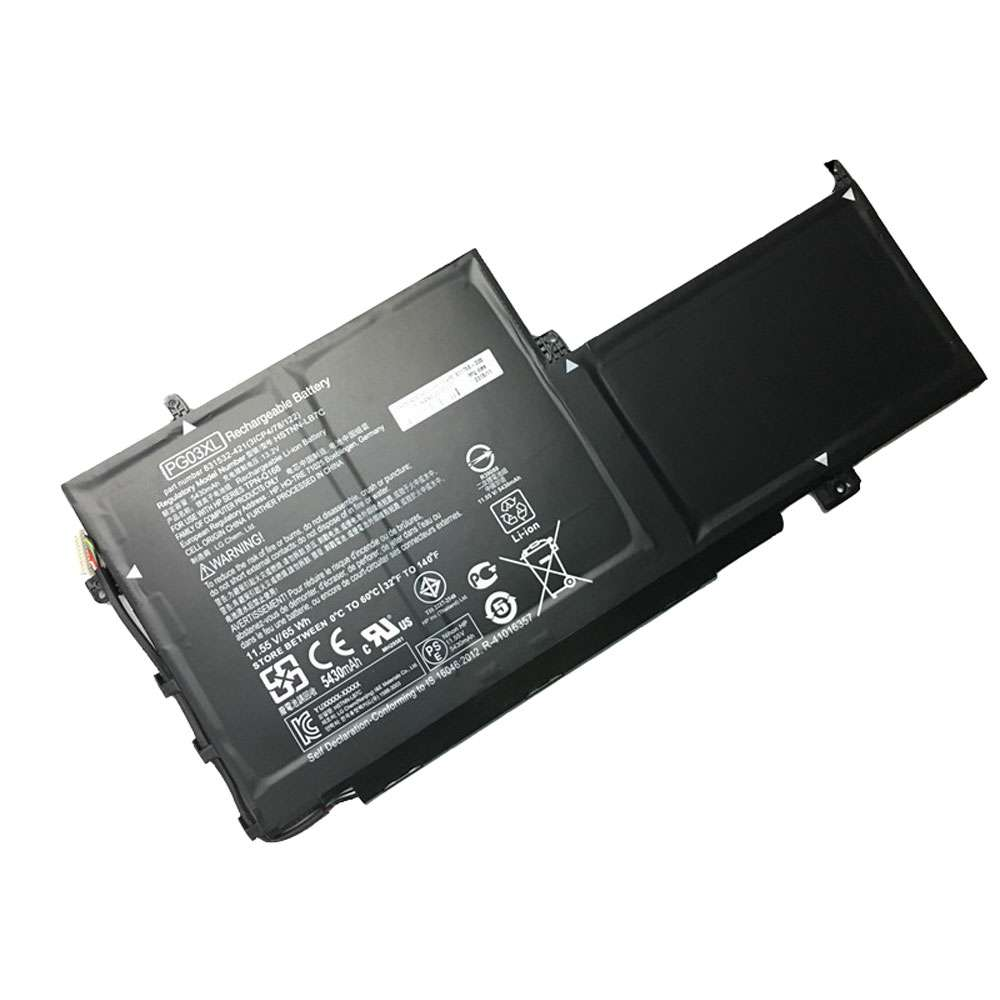 Replacement for HP PG03XL battery