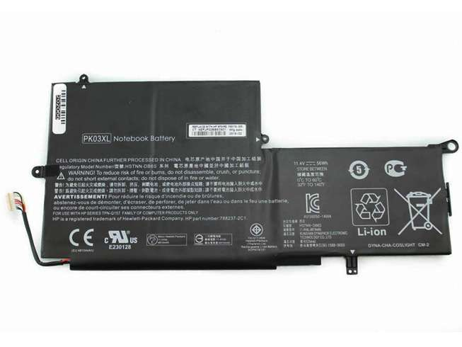 HP PK03XL HSTNN-DB6S 6789116-005 Laptop Akku