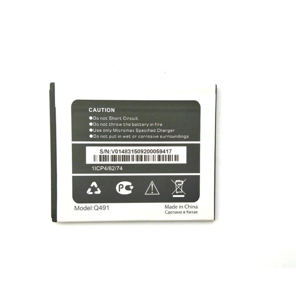 Micromax Q491 Smartphone Akku