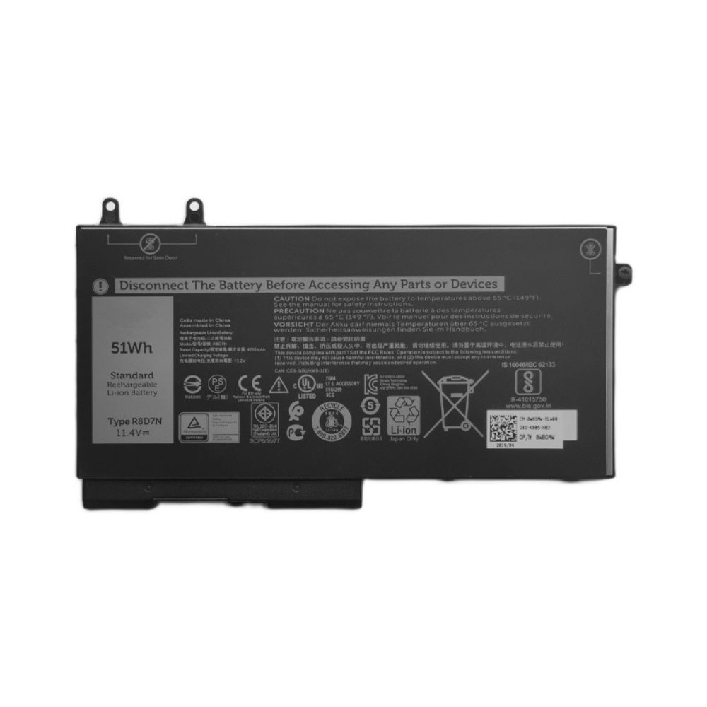 Dell R8D7N replacement battery