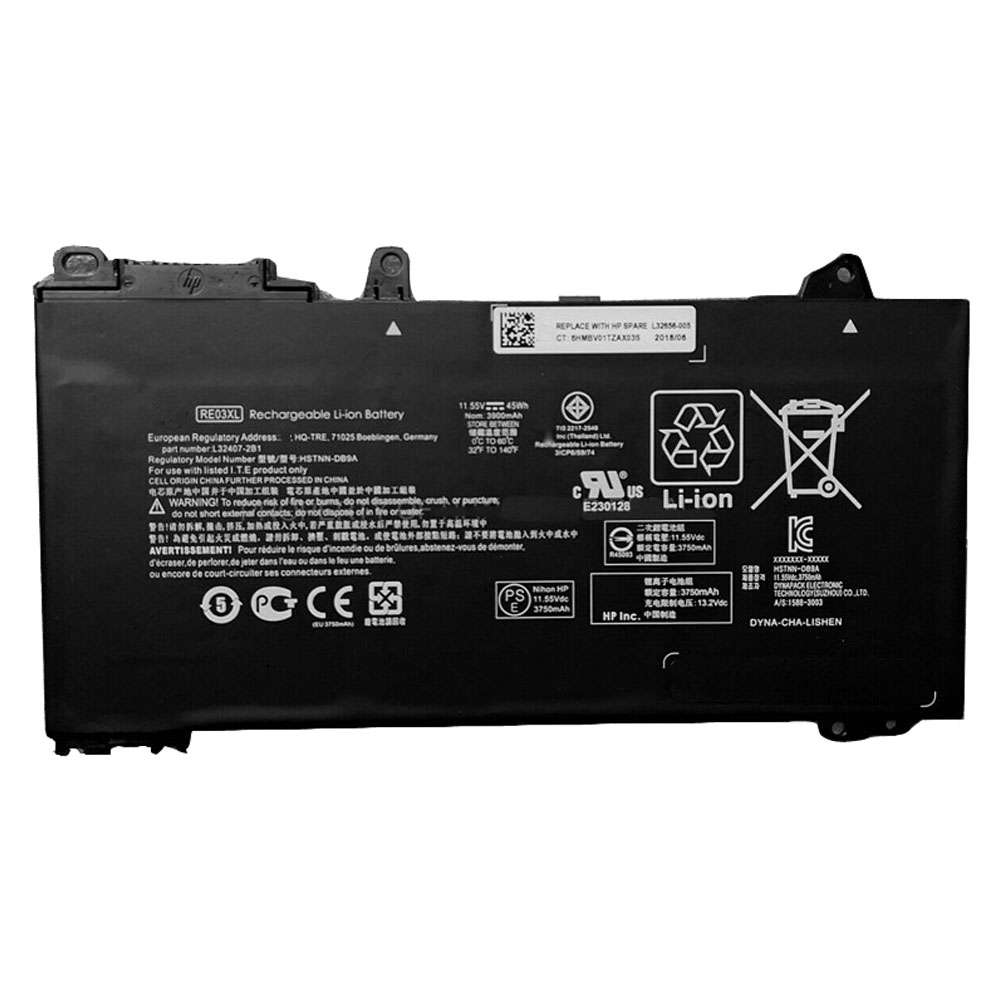 Replacement for HP RE03XL battery