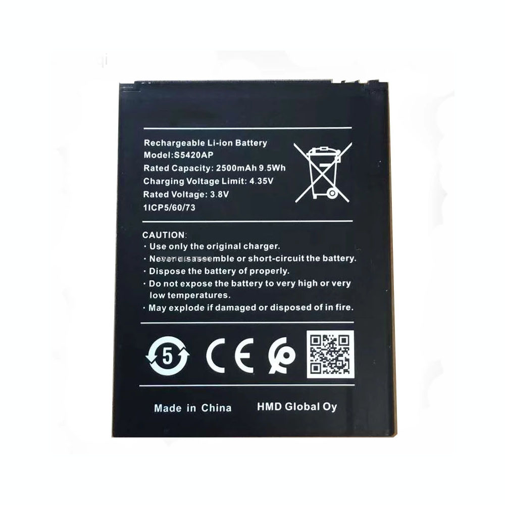 Replacement for Nokia S5420AP battery
