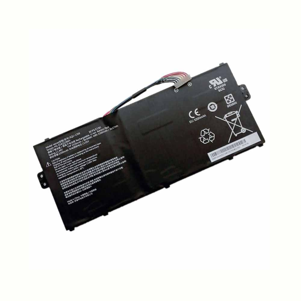 Hasee SQU-1709 replacement battery