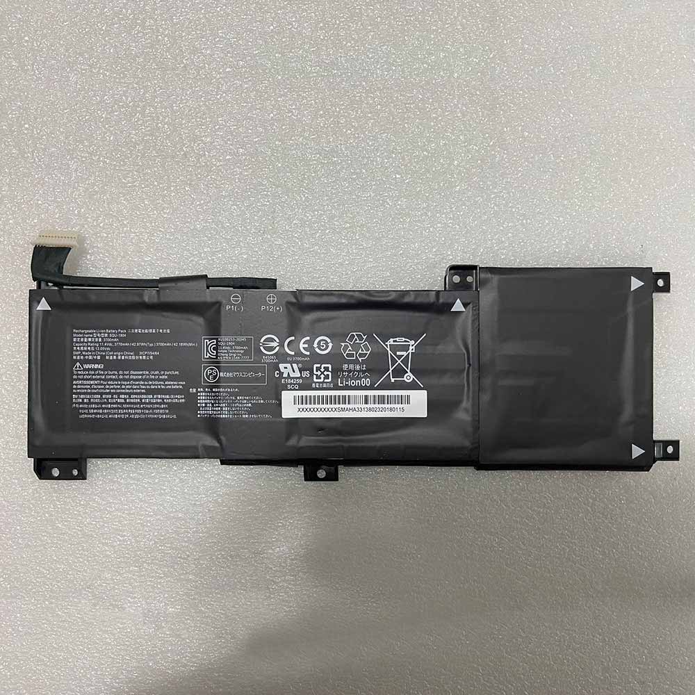 Hasee SQU-1904 replacement battery