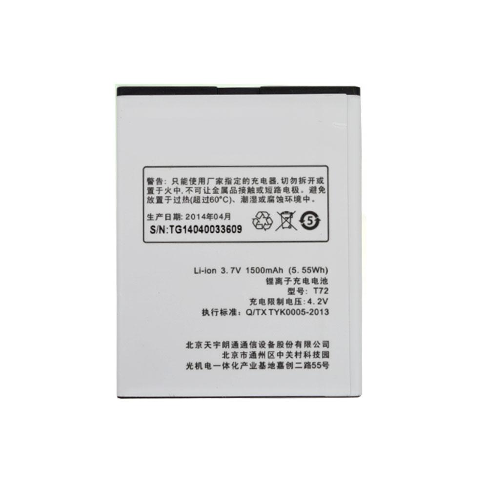 K-Touch T72 Smartphone Akku
