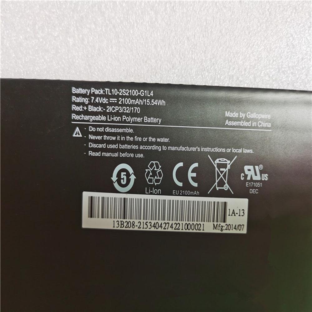 Hasee TL10-2S2100-G1L4 Laptop Akku