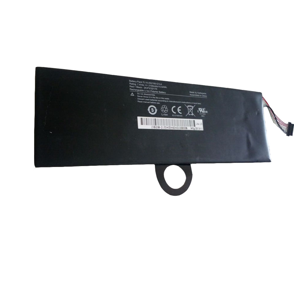 Replacement for Hasee TL10-2S2100-G1L4 battery