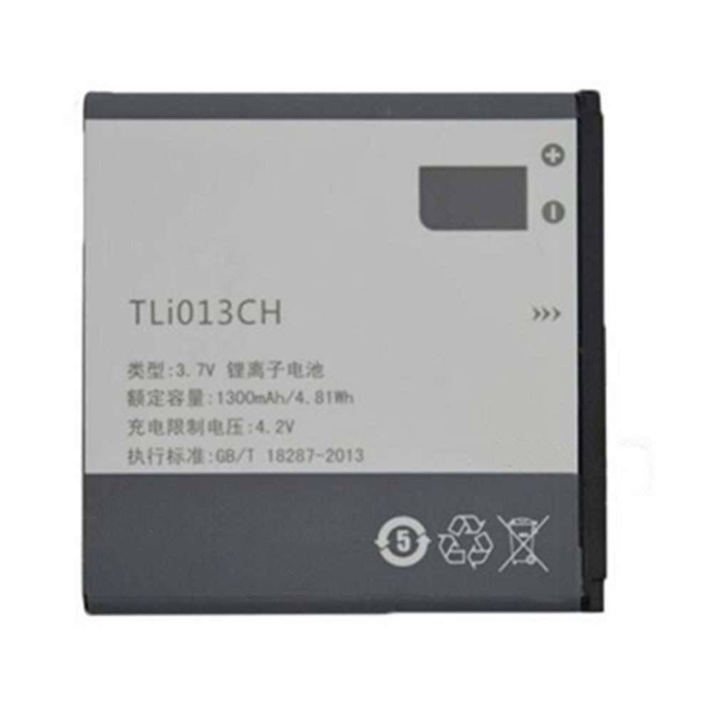 Replacement for Alcatel TLI013CH battery
