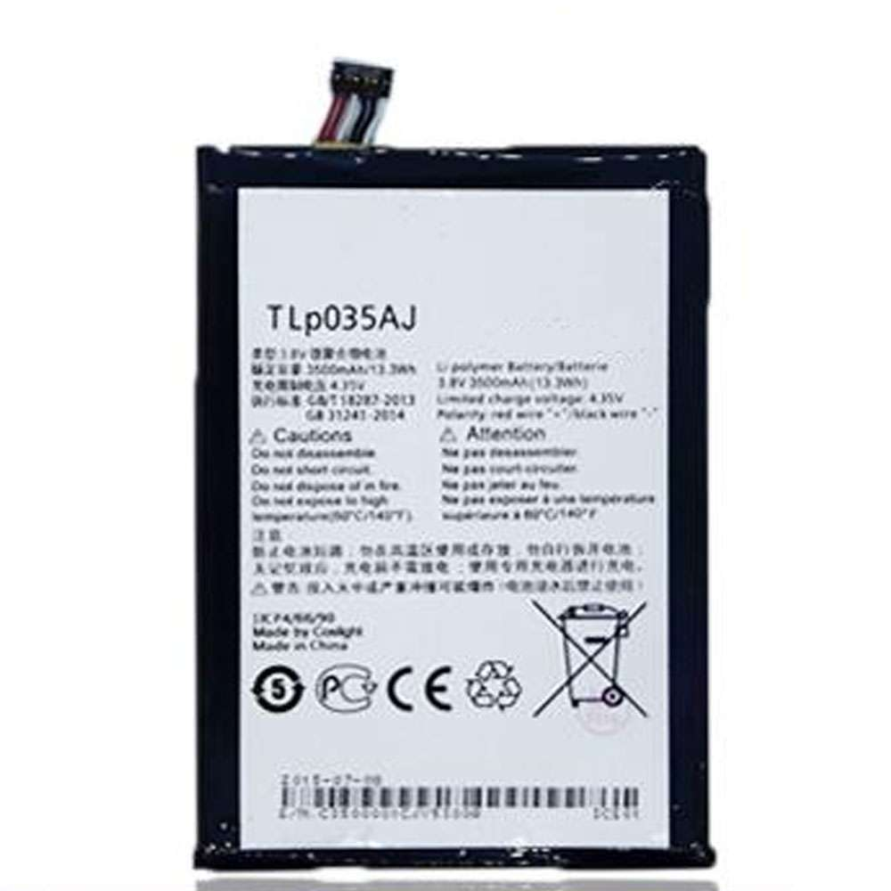 Replacement for Alcatel TLP035Aj battery