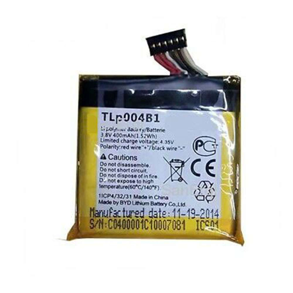 Replacement for Alcatel TLp004B1 battery