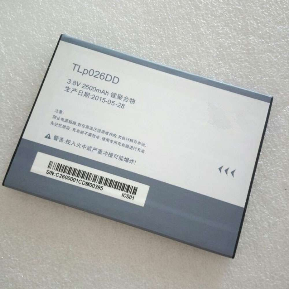 Replacement for Alcatel TLp026DD battery