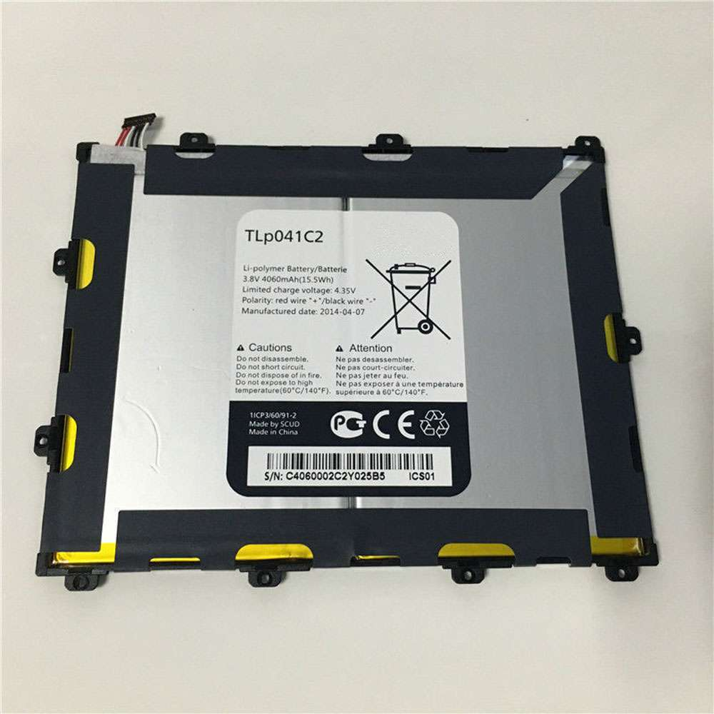 Replacement for Alcatel TLp041C2 battery