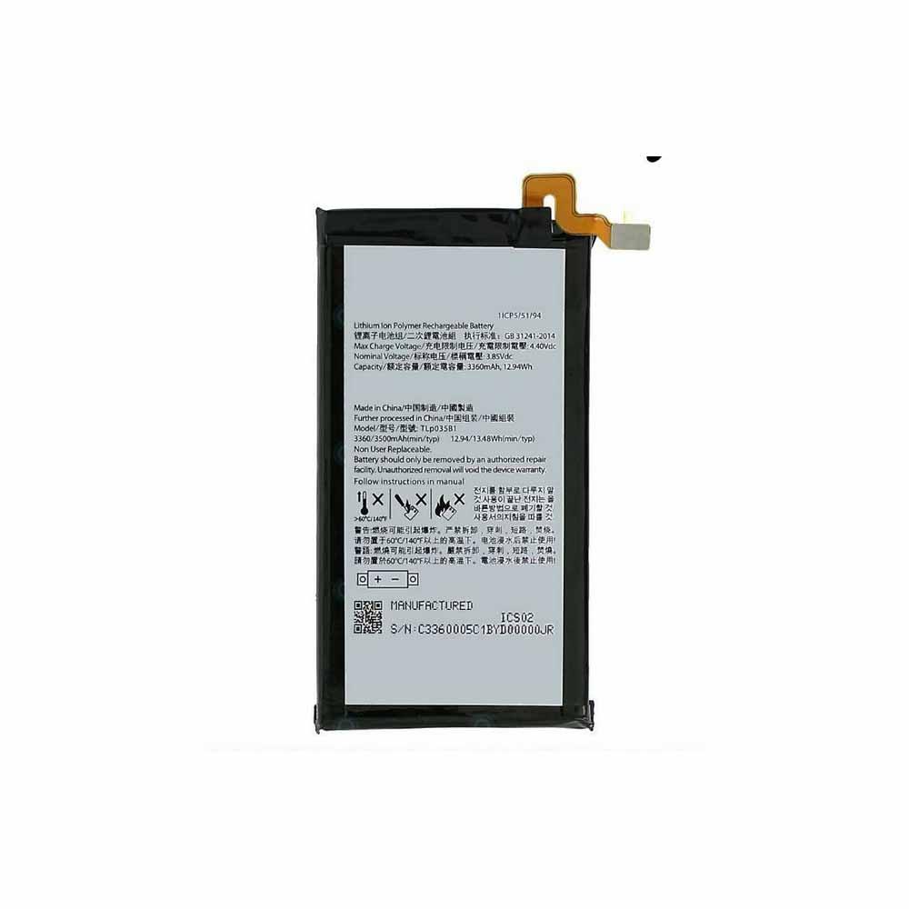 BlackBerry Tlp035B1 replacement battery