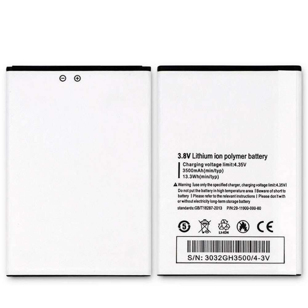 Replacement for Ulefone 29-11900-000-00 battery
