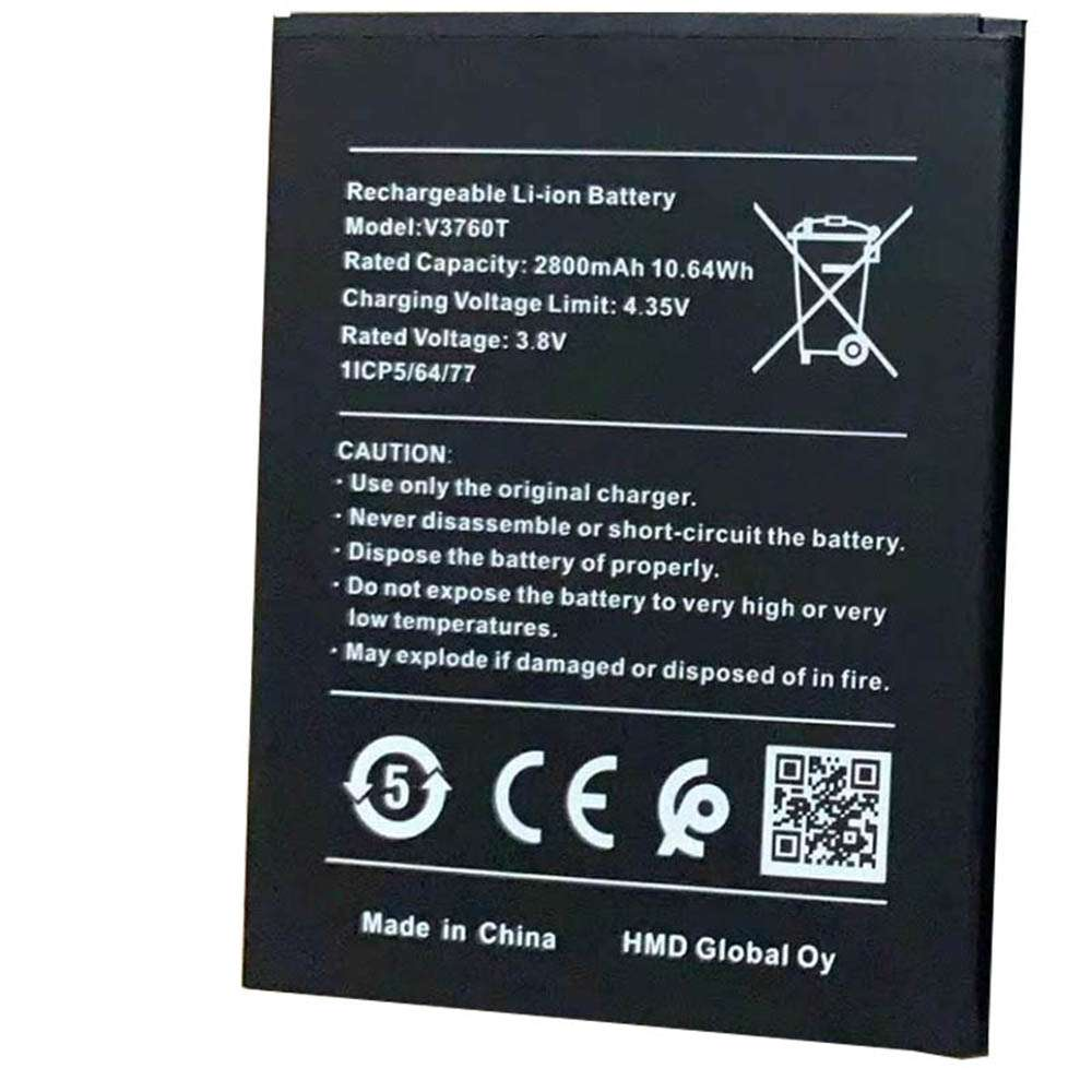 Replacement for Nokia V3760T battery