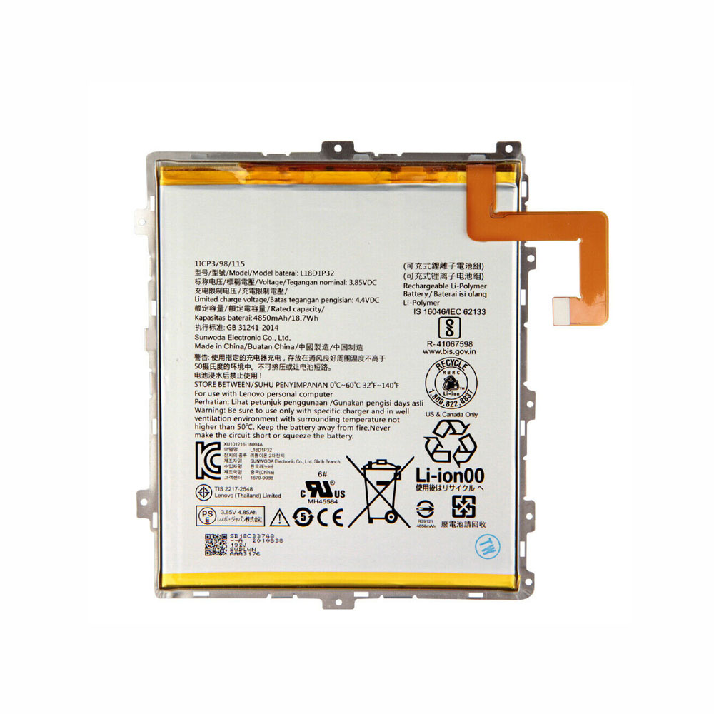 Lenovo L18D1P32 replacement battery