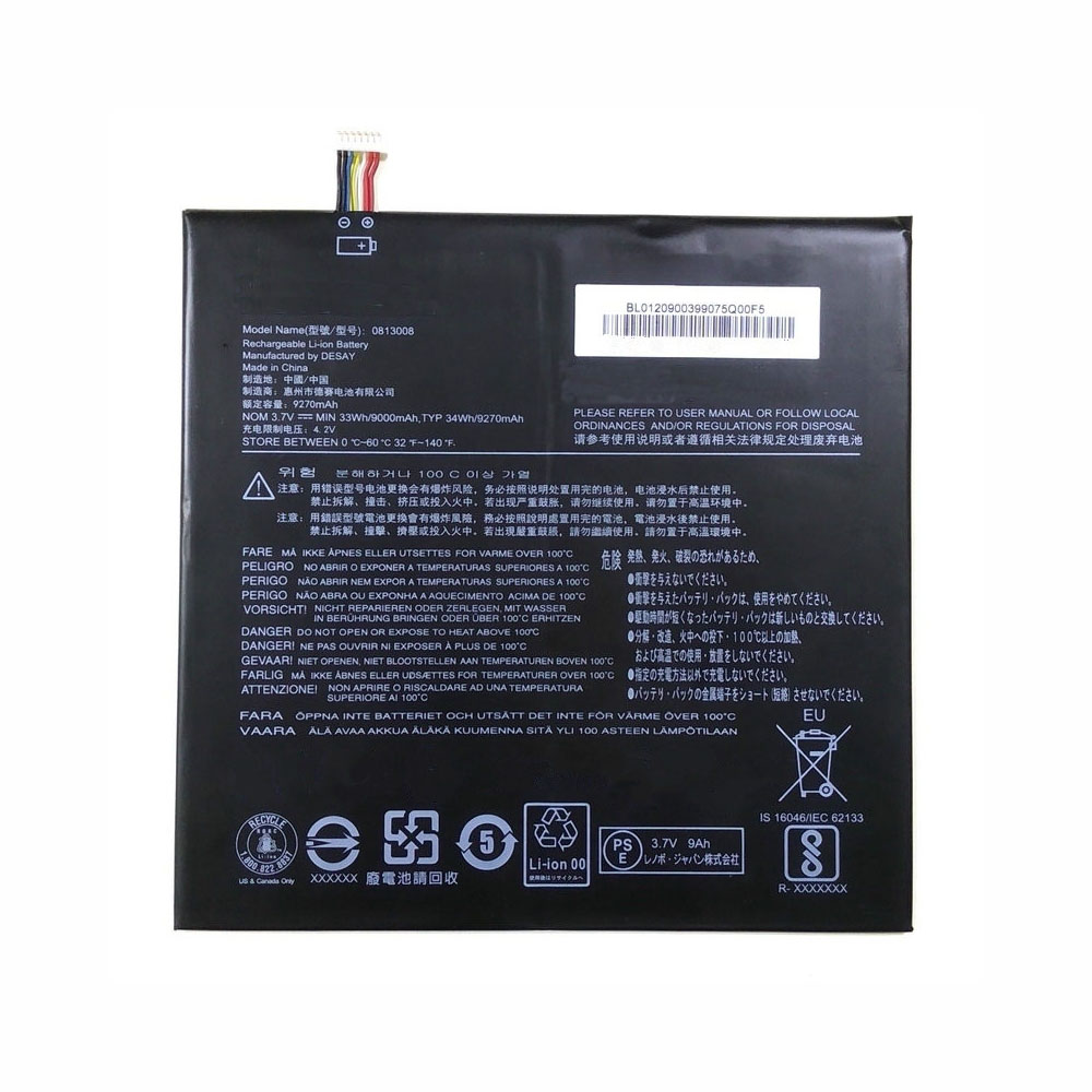 Lenovo 813008 replacement battery