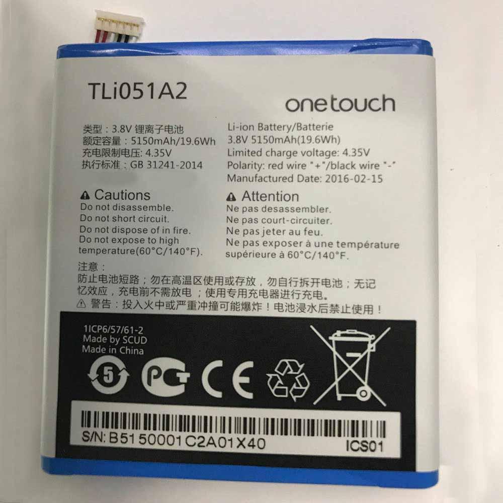 Alcatel TLi051A2 Smartphone Battery