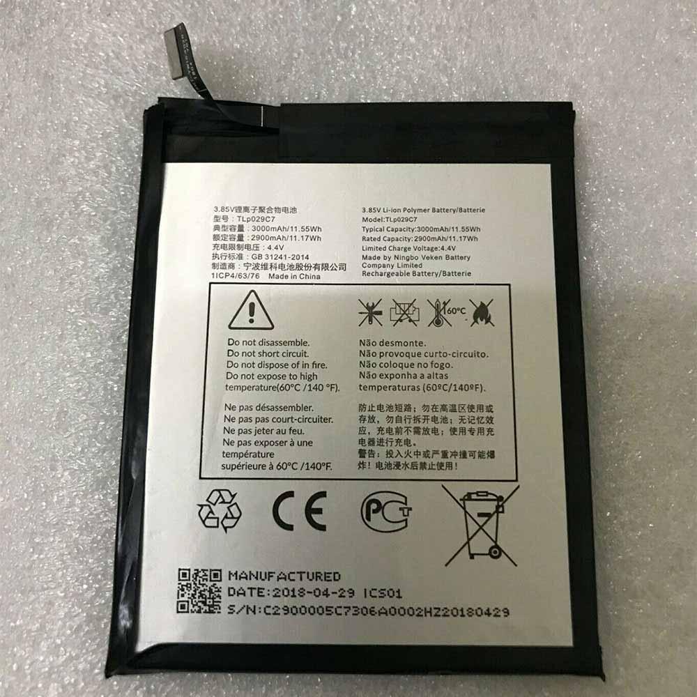 Alcatel TLp029C7 Smartphone Battery