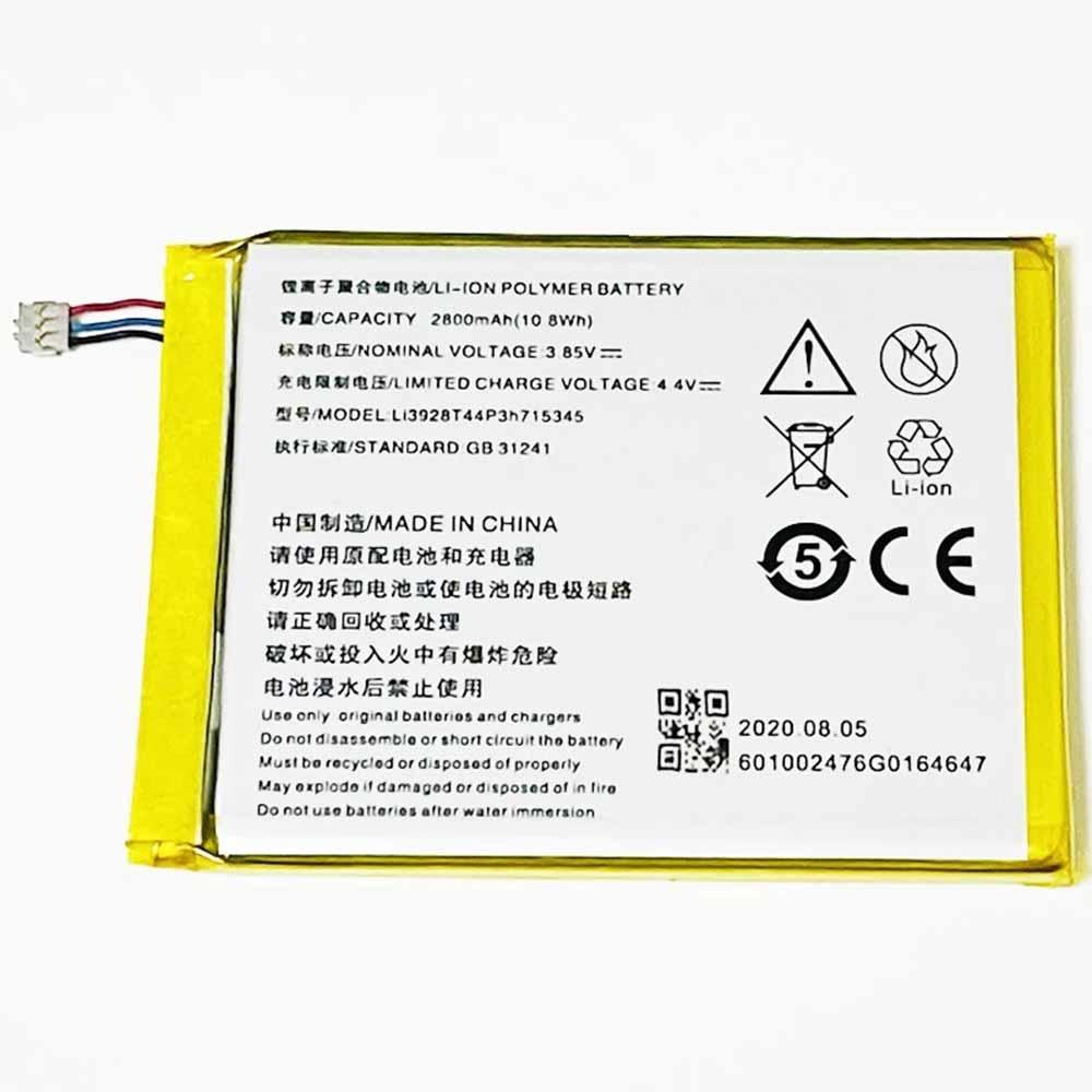 ZTE Li3928T44P3h715345 Smartphone Battery