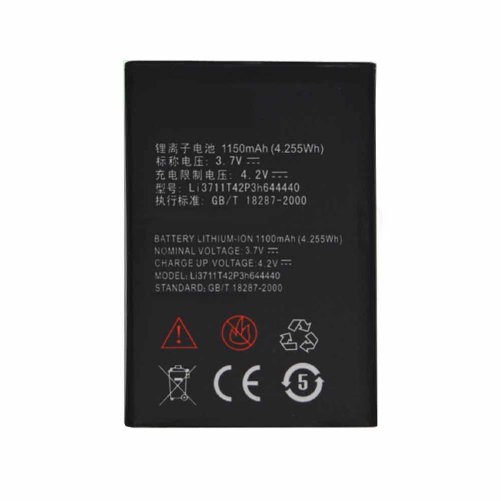 ZTE Li3711T42P3h644440 Smartphone Battery