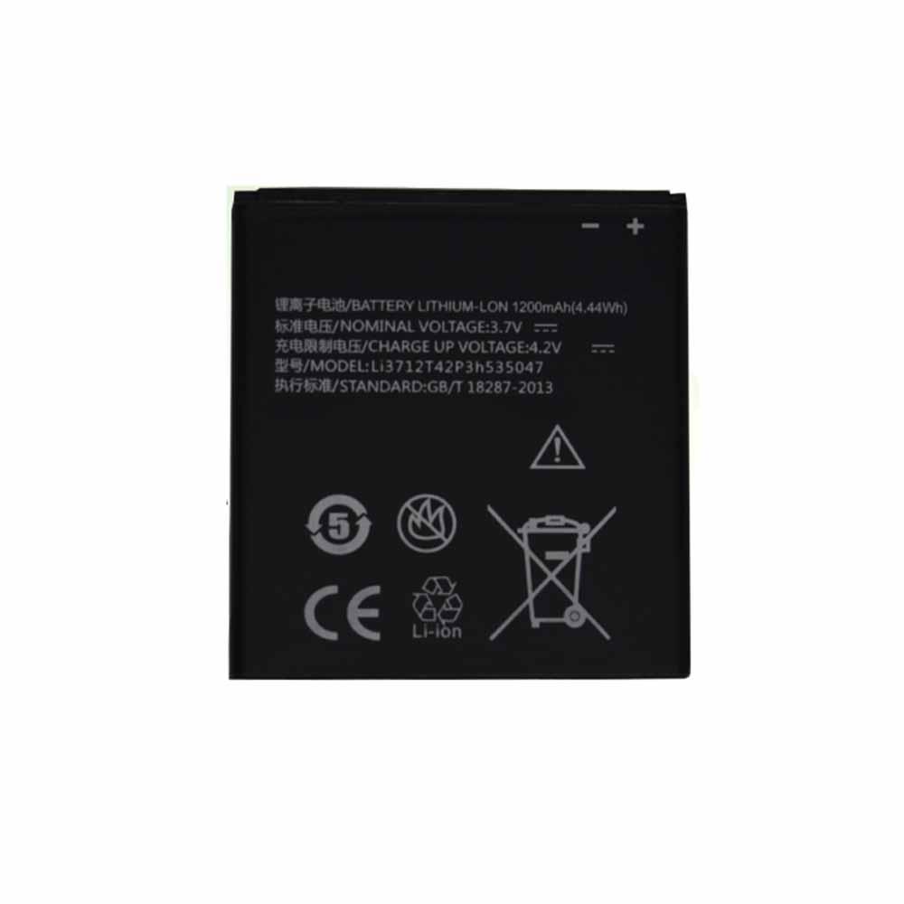 ZTE Li3712T42P3h535047 Smartphone Battery