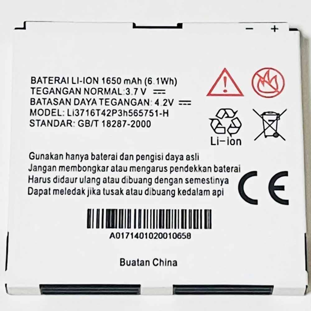 ZTE Li3716T42P3h565751-H Smartphone Battery