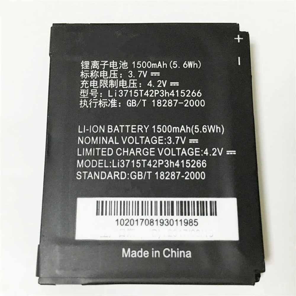 ZTE LI3715T42P3H415266 Smartphone Battery