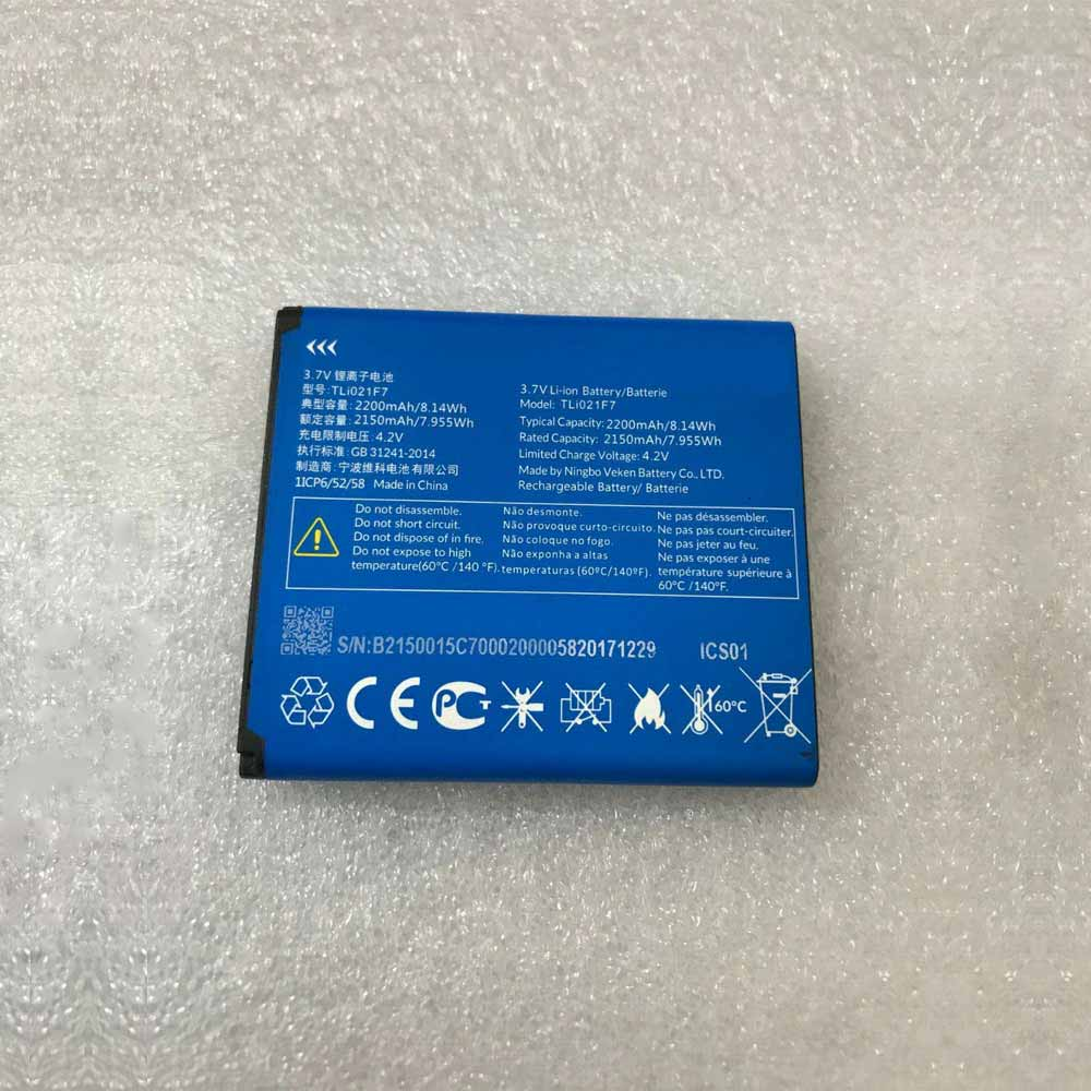 AlcatelTLi021F7 Tablet Battery