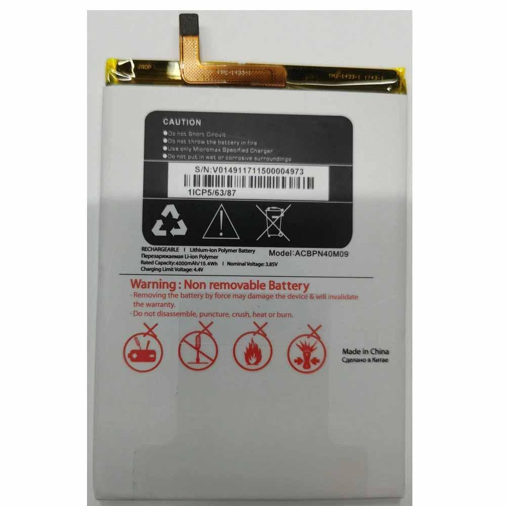 Micromax ACBPN40M09 battery