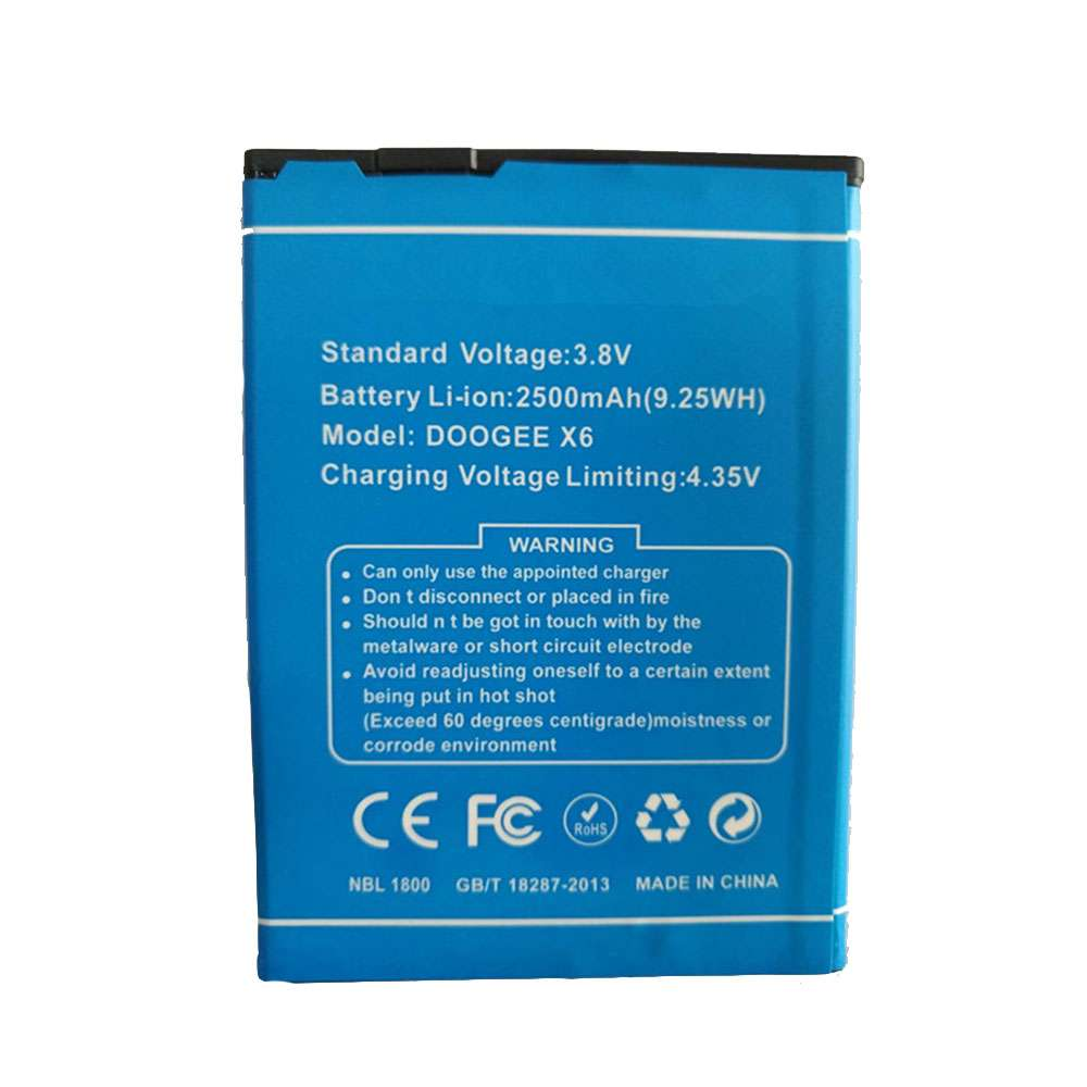 Replacement for Cubot X6 battery