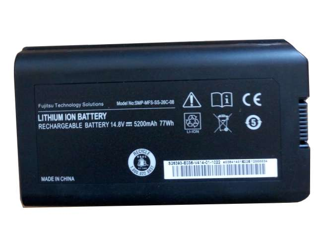 Replacement for Fujitsu SMP-MFS-SS-26C-08 battery