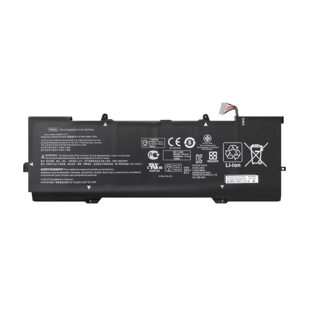 HP YB06XL replacement battery