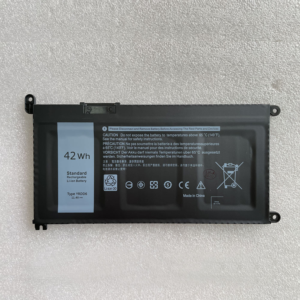 Dell YRDD6 replacement battery