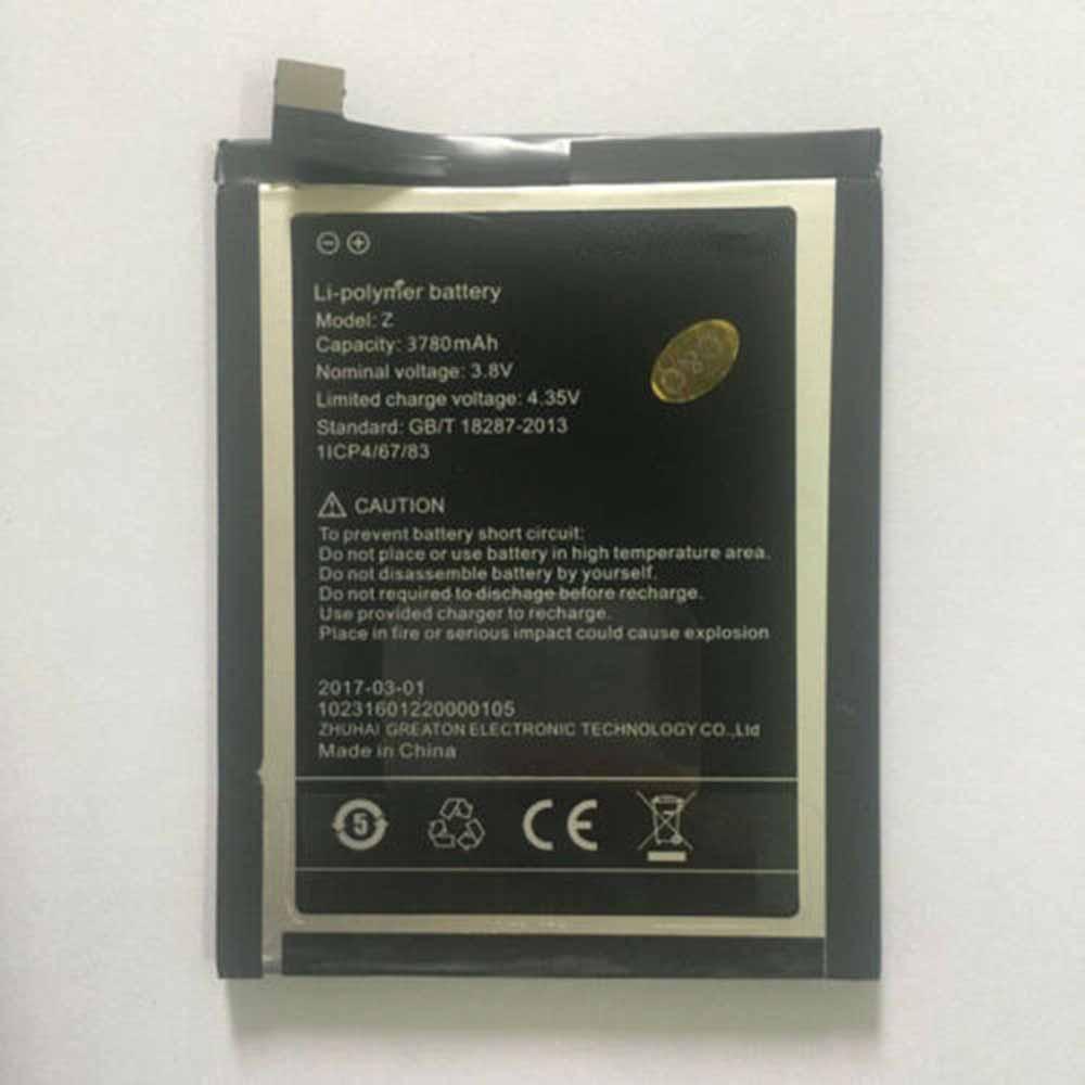 Umidigi Z/Z_Pro battery