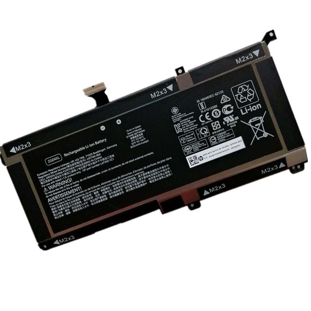 Replacement for HP ZG04XL battery