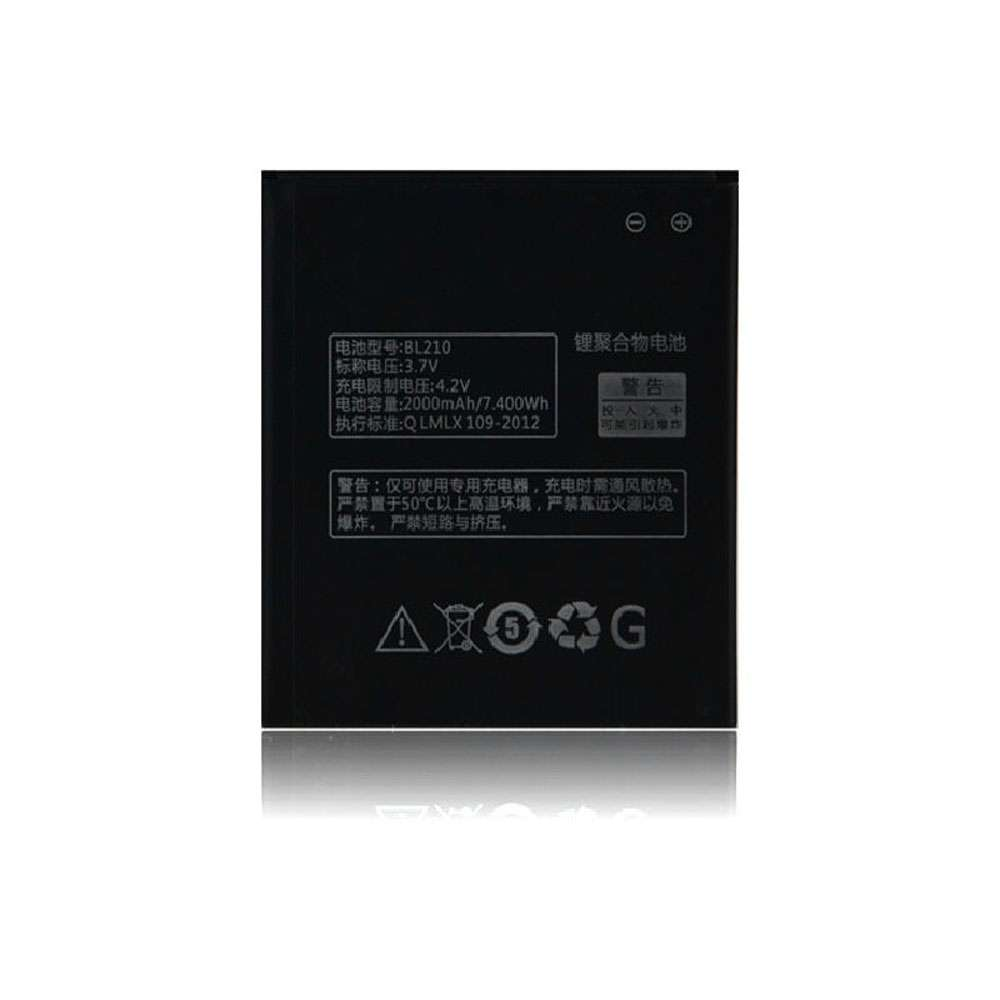 Replacement for Lenovo BL210 battery
