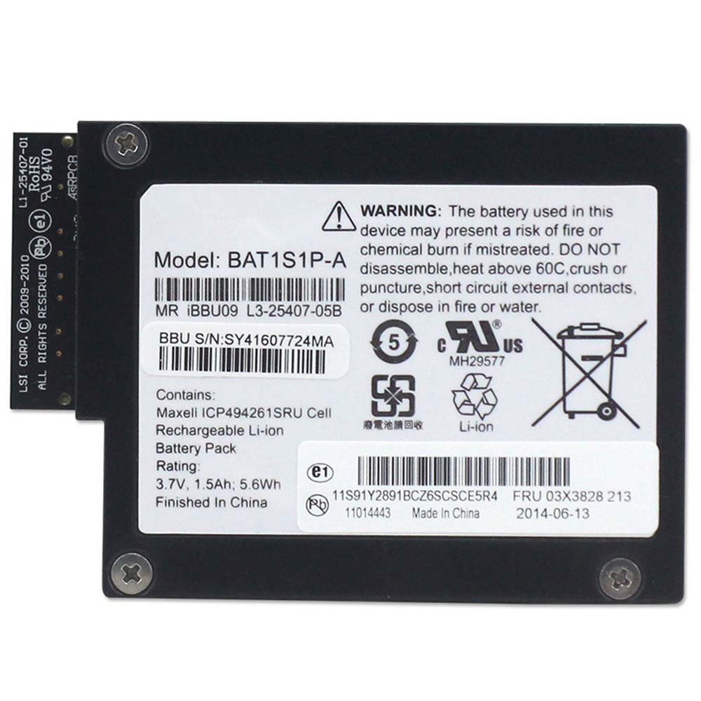 LSI iBBU09 replacement battery