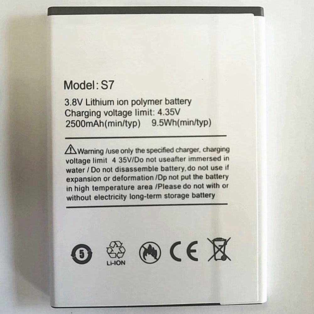 Ulefone S7 replacement battery