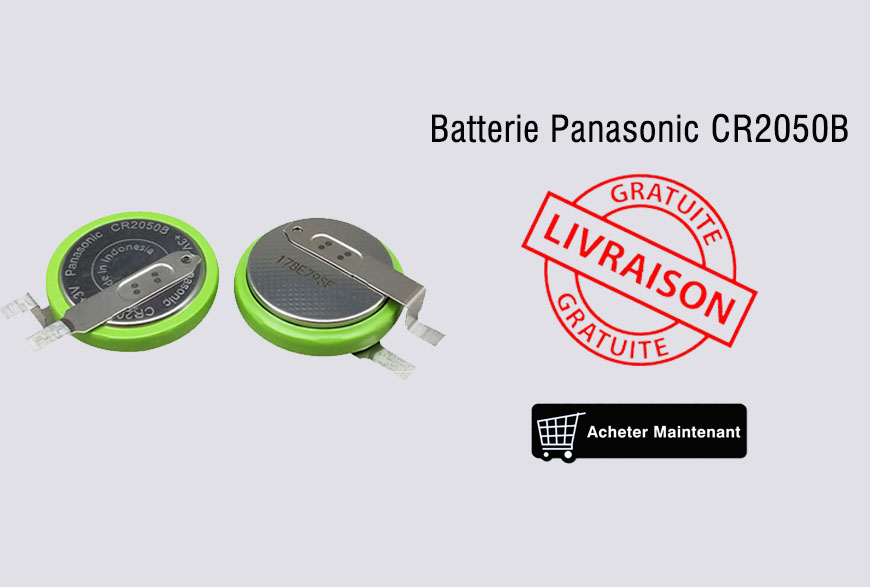 Panasonic CR2050B Batterie